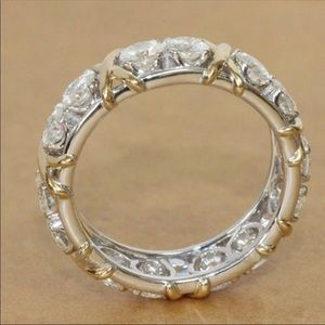 (Size 9) 10K gold engagement ring